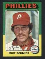 1975 Topps #70 Mike Schmidt NM/NM+ Phillies 78515