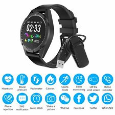 Sports Smart Watch Bracelet Wrist Band Fitness Tracker Heart Rate Blood Pressure