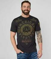 American Fighter by Affliction Short Sleeve T-Shirt Mens ALEXANDER Black