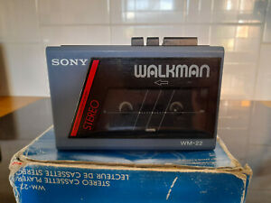 Sony Walkman WM-22 Personal Stereo Cassette Player