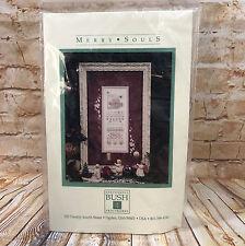 Shepherds Bush Merry Souls Counted Cross Stitch Kit New Unused 1993