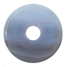 ágata natural Donut Colgante Gema 30mm piedra de cristal PI Piedra Gema