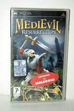 MEDIEVIL RESURRECTION GIOCO USATO OTTIMO STATO SONY PSP ED ITALIANA FR1 38693