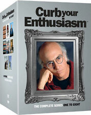 CURB YOUR ENTHUSIASM SEASONS 1-8 SERIES COMPLETE DVD BOX SET NEW