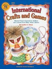 International Crafts and Games (Instructional Fair (Ts Denison))-ExLibrary