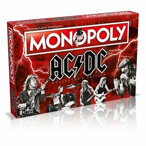 AC/DC Monopoly Collectors Edition Board Game- Winning Moves