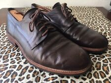 OUR LEGACY 1980-81 Brown Grain Leather PLAIN TOE OXFORDS Sz-11 US Hard to Find