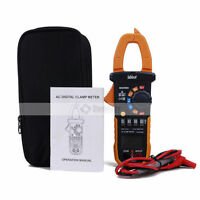 MS2008A Digital Clamp Meter DC AC Volt AC Amp Ohm Tester 2000 Counts NCV