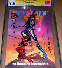 Cyblade/Shi #1 Special Edition CGC SS 9.6 SIGNED Silvestri Tucci 1st Witchblade