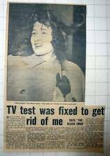 1954 Anna Caglio The Black Swan Tv Test Fixed Rome Scandal Trial