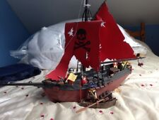 Playmobil Pirate Ship And 4 Pirates