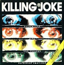 Killing Joke Extremities, Dirt & Various Repressed Emotions 2 x Lp Original 90