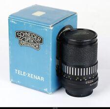 Lens  Schneider Black Tele Xenar Electric Auto 3.5/135mm For Pentax M42 Mint Box