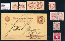 Krain: IDRIA (IDRIJA) 1850, 1867-1890