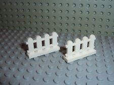 Lot de 2 barrieres LEGO ref 33303 / FENCE / 4886 10196 5477 4120 4999 4121 ...