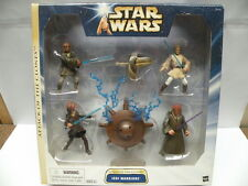 Star Wars Attack of the Clones Action Figure Set * JEDI WARRIORS * Hasbro