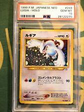 PSA 10 Lugia Holo Neo Genesis Japanese Pokemon Card
