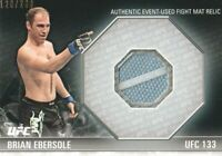 2012 Topps UFC Knockout Fight Mat Relics #FM-BE Brian Ebersole 120/288