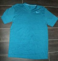 Men's Nike Dri-Fit Short Sleeve Medium Polyester Blend Athletic Activewear Top