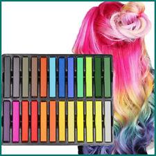 GESSO PER CAPELLI 6 12 24 36 Tintura Temporaneo Colore soft pastelli Salon Kit