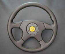 Momo EVOLUTION steering wheel m36 KBA70135 leather retro  yellow