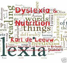 CD - Dyslexia & Nutritioin - Karl de Leeuw - Special Fonts & eBook