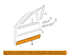 Pontiac GM OEM 05-08 Vibe Front Door-Lower Molding Trim Right 88972652