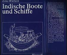 Wiebeck Indische Boote und Schiffe Segelschiff Einbaum Kanu Katamaran Modellbau