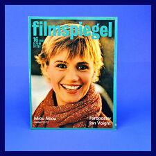 DDR ▶ Filmspiegel 16/1982 Lil Dagover Miou Miou