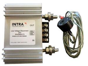 Low Voltage Disconnect With Remote Sense, Override & Alarm - 24V 75A (INTRA)