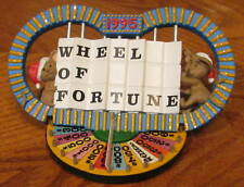 1995 Hallmark WHEEL OF FORTUNE AnniversaryOrnament MIMB