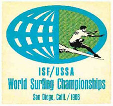 San Diego 1966 Surf Contest Vintage Style Travel  Decal sticker