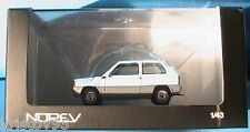 FIAT PANDA 30 BLEU CIEL NOREV 1/43 DIE CAST MODEL CAR