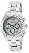 Invicta 17023 Gent's Chrono White Dial Steel Bracelet Dive Watch
