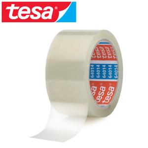 1 Rolle TESA Packband 64014 leise Klebeband Paketband Transparent 50mm x 66m