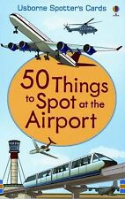 50 Things to Spot at the Airport Usborne Spotter's Cards