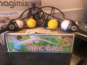 Wham-O Trac Ball Racket Toy Game Vintage 1975 EXCELLENT CONDITION Boxed