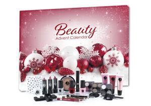 Adventskalender Kosmetik Make up Schminke Nagellack Damen Mädchen Parfümerie ROT