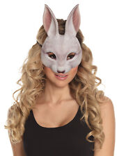 Rabbit Mask Fancy Dress Costume Half Face Mask Plays Book Week Easter Masque NEW