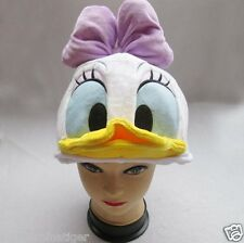 New Disney Daisy Duck Costume Hat Cap Plush Cosplay