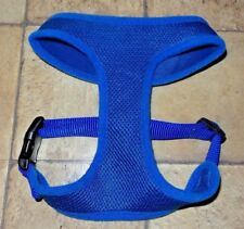 Padded Mesh Puppy Dog Harness, Royal Blue, Size Small