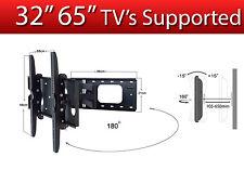 "TV Wall Mounted Bracket 32"" 65"" VESA 530x400 80KG Super Strong Tilt and Swivel"
