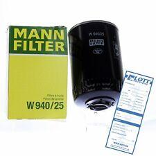 MANN-FILTER Ölfilter Oelfilter Schraubfilter für Audi Seat Volvo VW // W 940/25
