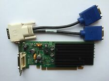 SFF DUAL HP 430956-001 430965-001 NVS 285 P383 128MB PCIE VGA SPLITTER WINDOWS 8