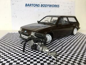 1:18 Sunstar Mk3 Escort Standard Engine & Gearbox RS Rally  New MODIFIED