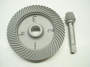 Yamaha QT50 Final Drive Ring Gear & Pinion For PW50 Racing Conversion #2