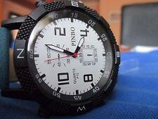 Reloj PIMBO, Correa negra y tejana, Muñeca militar y deportivo