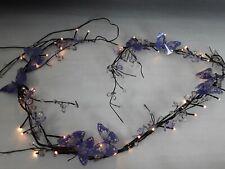 Next purple butterfly mains garland