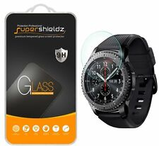 2x Supershieldz® Tempered Glass Screen Protector For Samsung Gear S3 Frontier
