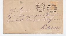 W187-SICILIA-CAMPOBELLO DI LICATA ANNULLO A SBARRE E DOPPIO CERCHIO